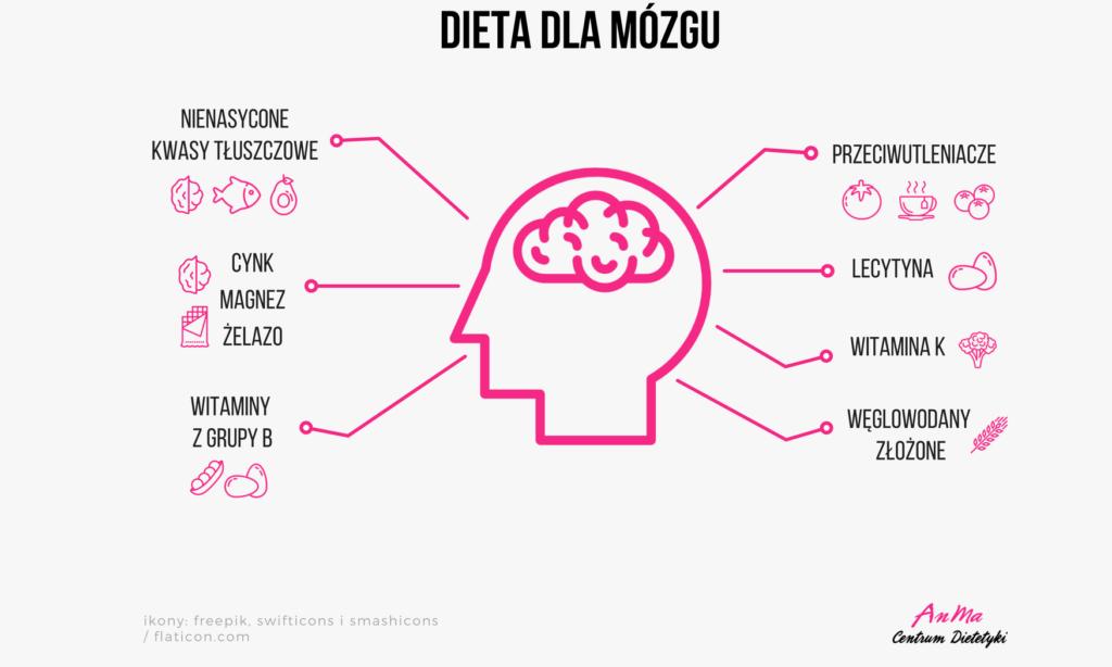 składniki wspierające pracę mózgu