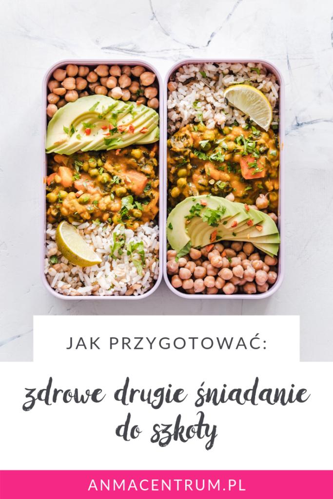 zdrowe drugie śniadanie do szkoły_dietetyk Łódź