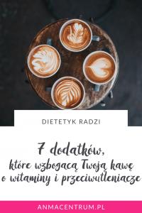 zdrowe dodatki do kawy_dietetyk Łódź