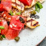 dietetyk online_sałatka z arbuzem i pęczakiem