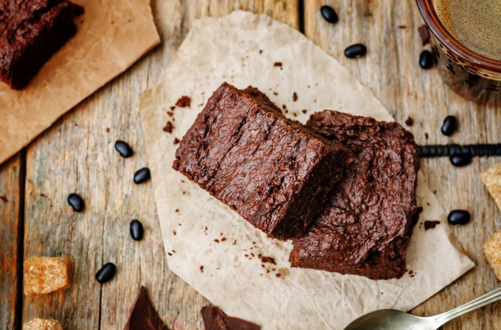brownie z fasoli - przepis